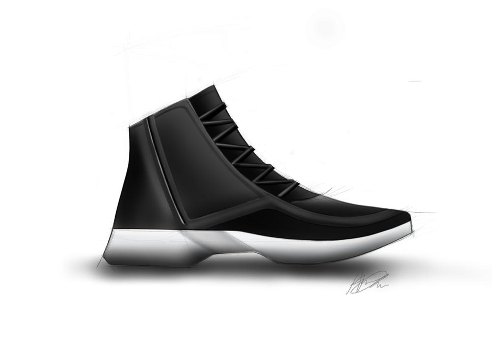 Anna Chau - Sneaker Sketch