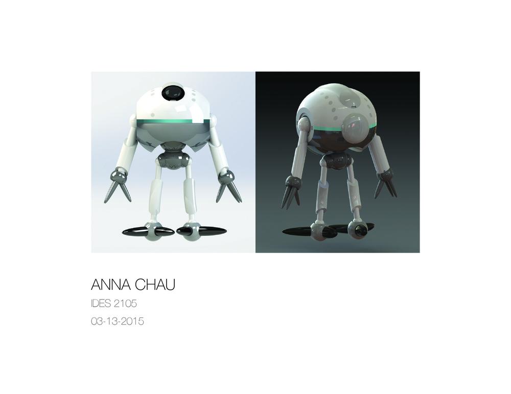 Anna Chau - Giru Robot
