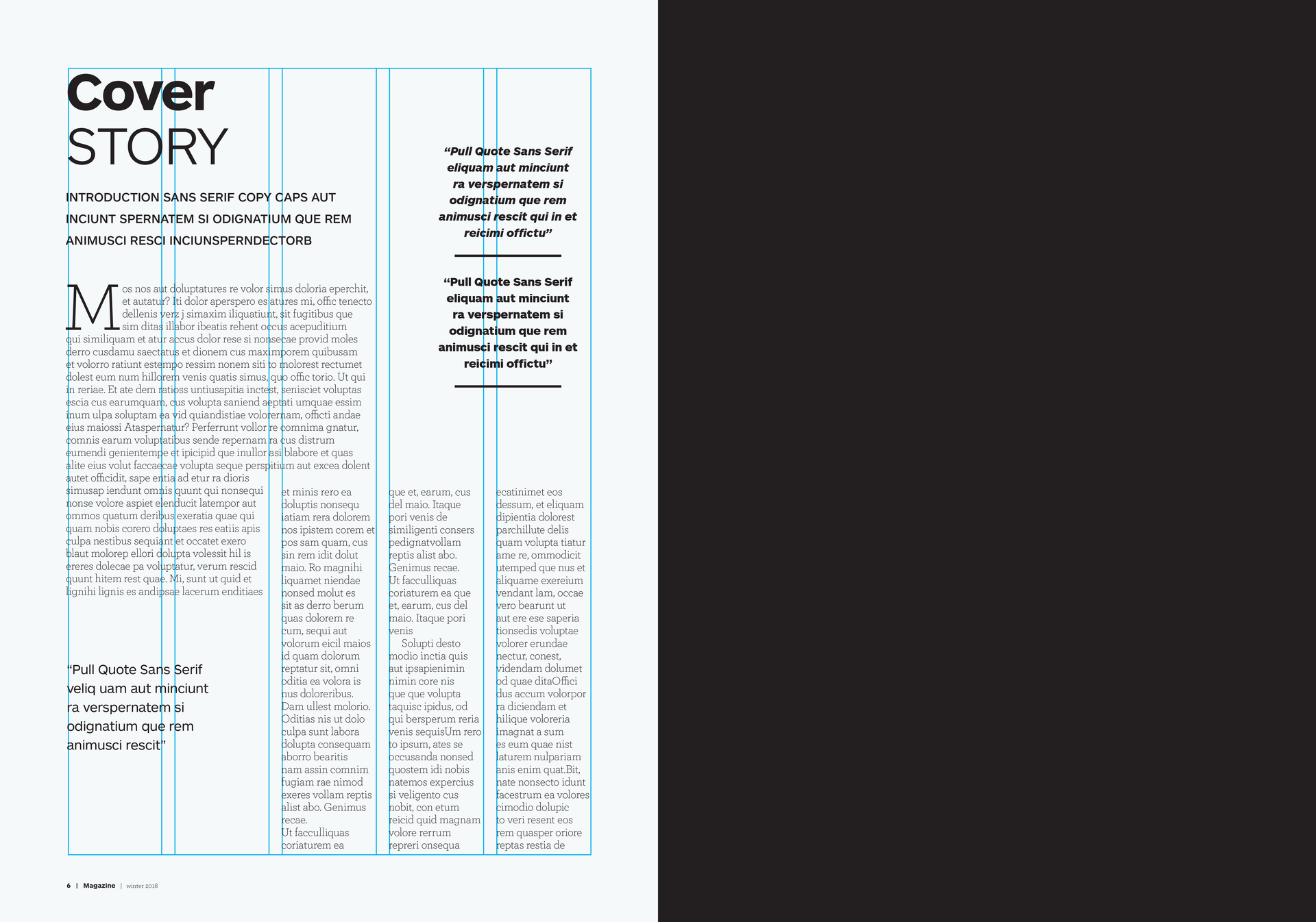 Free Magazine Templates Free Magazine Templates Download In Design