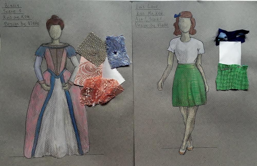 Vlada Pakhomova - Costume Des