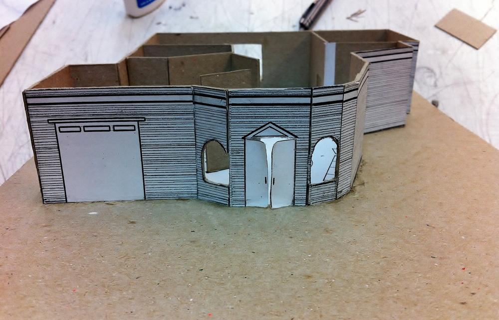 Vlada Pakhomova - Scene Design (Model Boxes)
