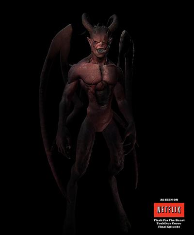 Demon Father | Live Action Model