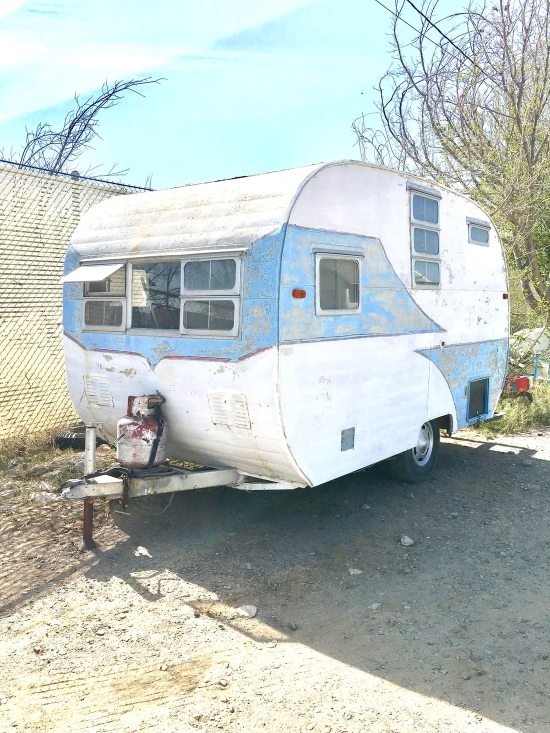 Vintage Travel Trailer Restoration: 1955 Dalton