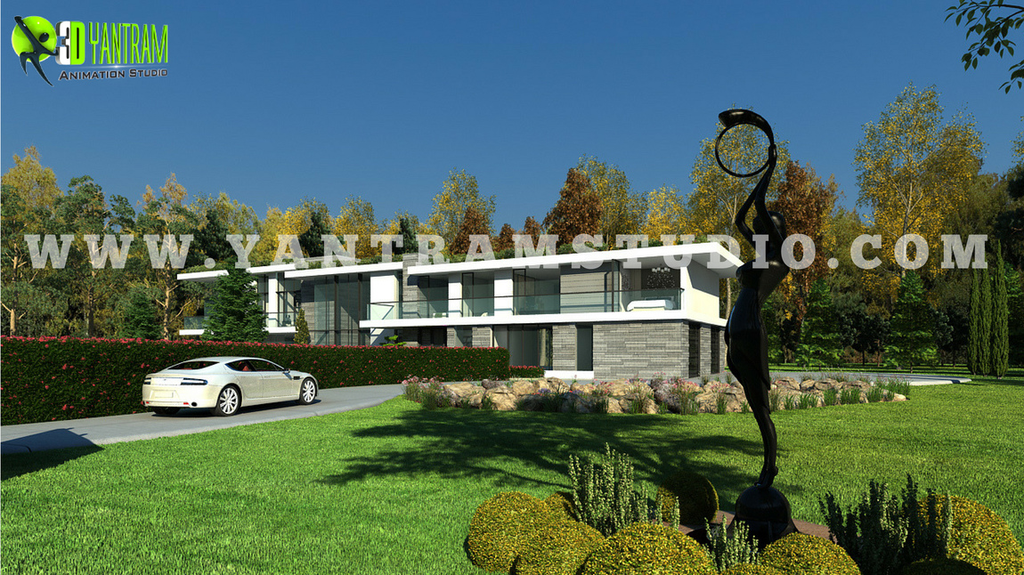 Yantram Studio - 3d interior and exterior home rendering