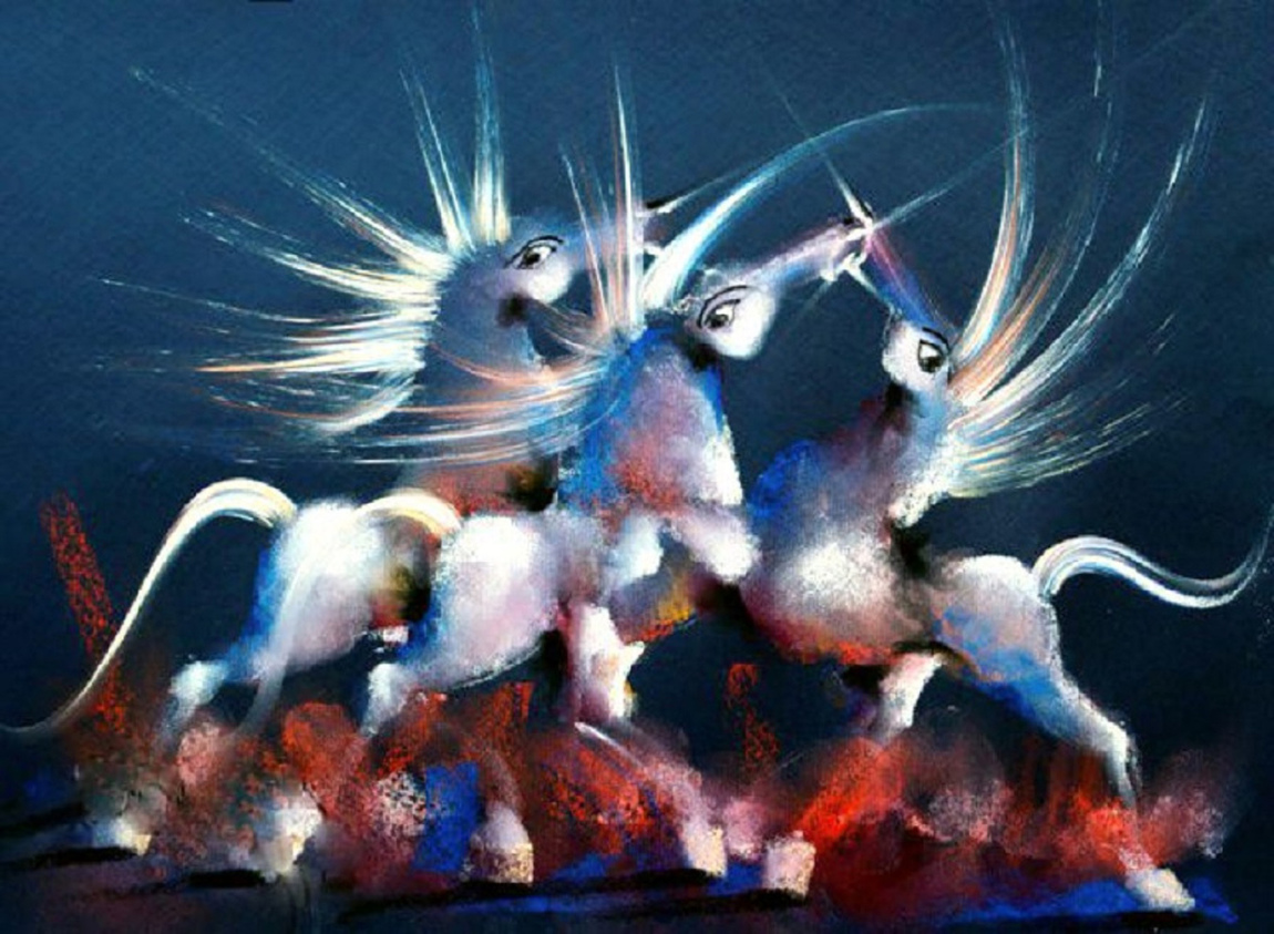 David Berkowitz Chicago - White Horses