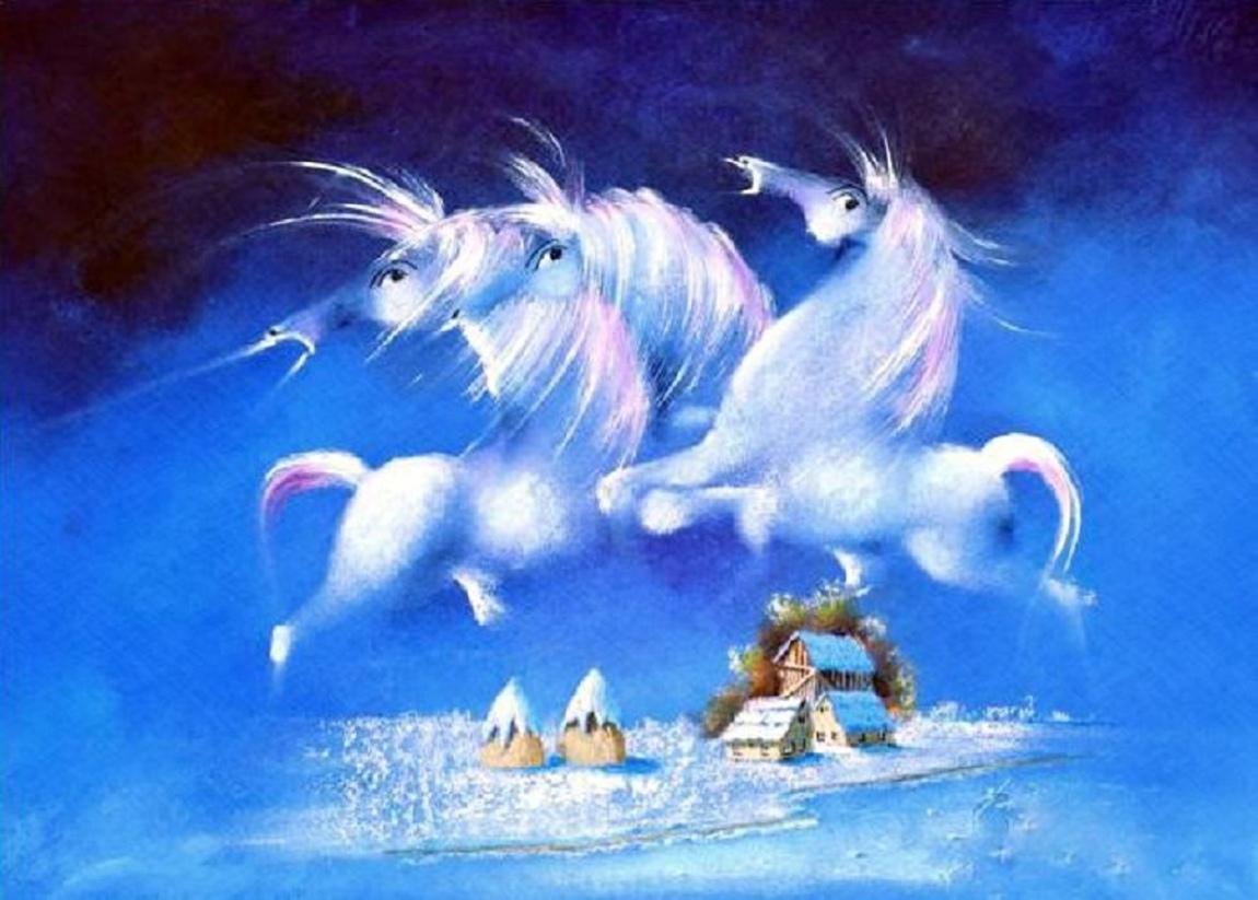 David Berkowitz Chicago - White Angel Horses